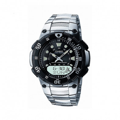 Мъжки часовник Casio Collection сребрист браслет с радио сверяване
