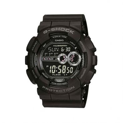 Мъжки спортен часовник Casio G-SHOCK черен с автоматичен календар