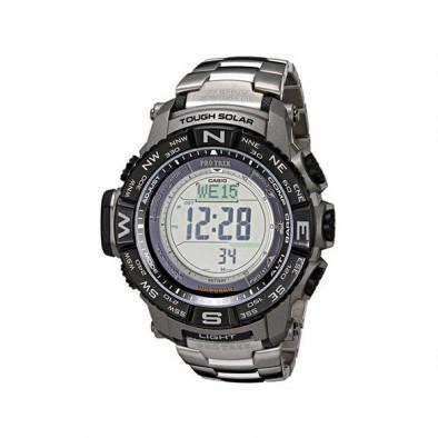Мъжки часовник Casio Pro Trek с цифров компас с двупосочно калибриране