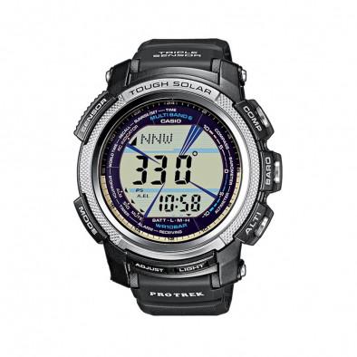 Мъжки часовник Casio Pro Trek черен с барометър