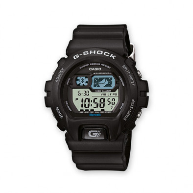 Мъжки спортен часовник Casio G-SHOCK черен с Bluetooth