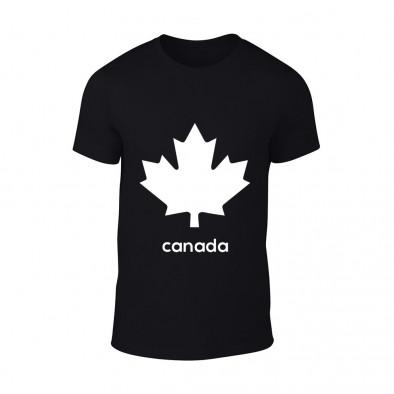 Мъжка черна тениска Canada TMN-M-064 2