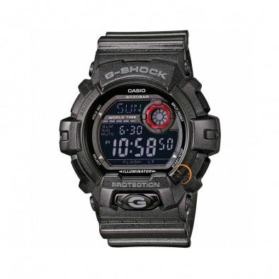 Мъжки спортен часовник Casio G-SHOCK черен със син дисплей