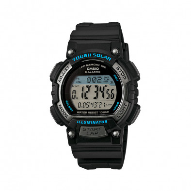 Мъжки часовник Casio Collection черен с автоматичен календар