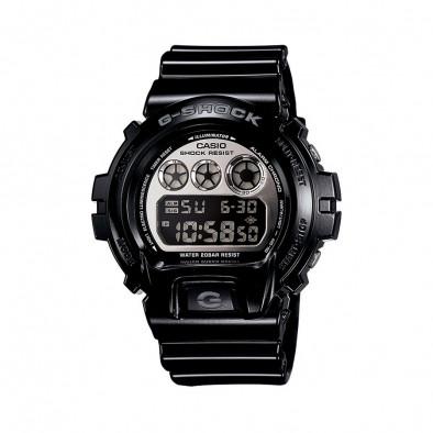 Мъжки спортен часовник Casio G-SHOCK черен с мултифункционална аларма