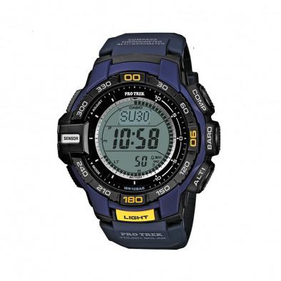 Мъжки часовник Casio Pro Trek син с осветление