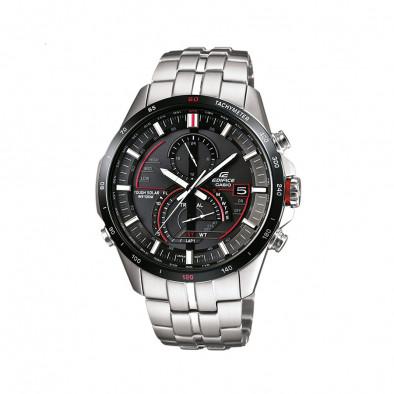 Мъжки часовник Casio Edifice сребрист браслет със Smart технология за управление