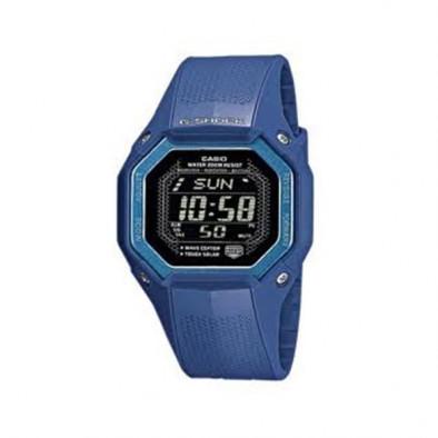 Мъжки часовник Casio G-SHOCK син от анти-магнетичен материал