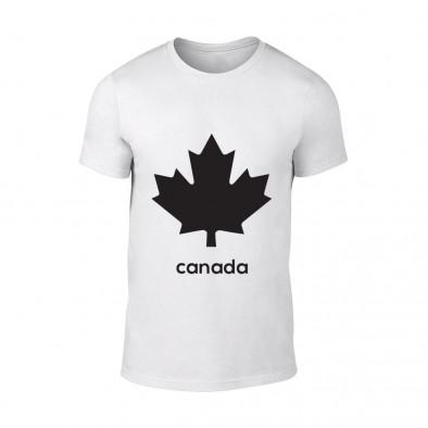 Мъжка бяла тениска Canada TMN-M-063 2