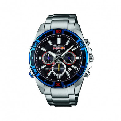 Мъжки часовник Casio Edifice сребрист браслет с хронометър