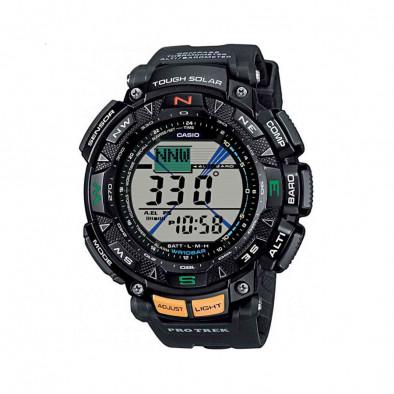 Мъжки часовник Casio Pro Trek черен с дигитален компас
