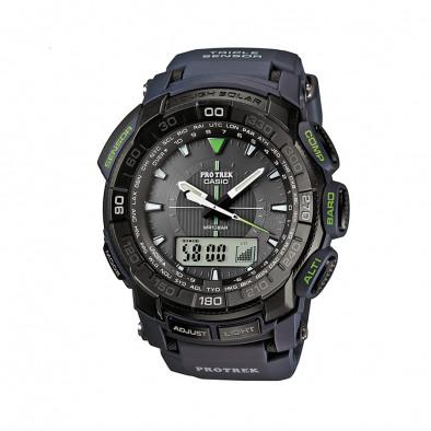 Мъжки часовник Casio Pro Trek черен с компас