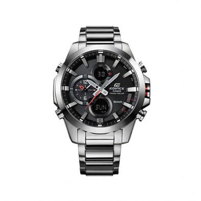 Мъжки часовник Casio Edifice сребрист браслет с функция за намиране на телефона Casio 4