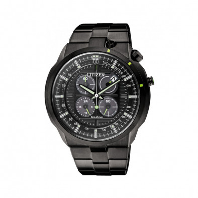 Eco-Drive Bullhead Chronograph Men's Watch CA0485-52E