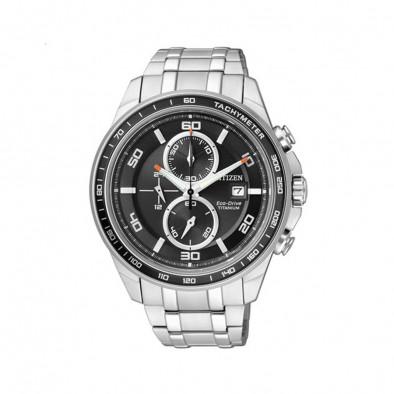 Eco-Drive Super Titanium Men's Watch CA0340-55E