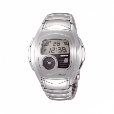Dual Time Chronograph Steel Men's Watch JG1071-56E
