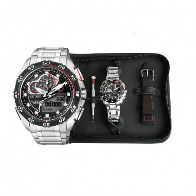 MEN'S ECO-DRIVE PROMASTER CHRONOGRAPH WATCH JW0124 53E Citizen 5
