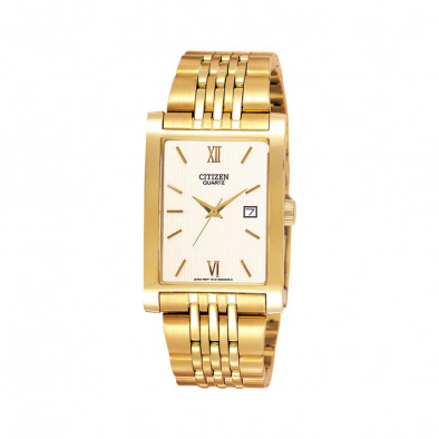 Men's Quartz Gold Tone Elegant  Watch BH1372-56A
