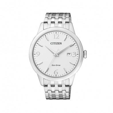 Мъжки часовник Citizen изцяло сребрист браслет