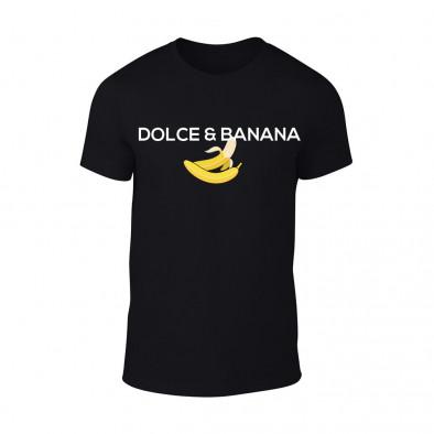 Мъжка черна тениска Dolce & Banana TMN-M-076 2