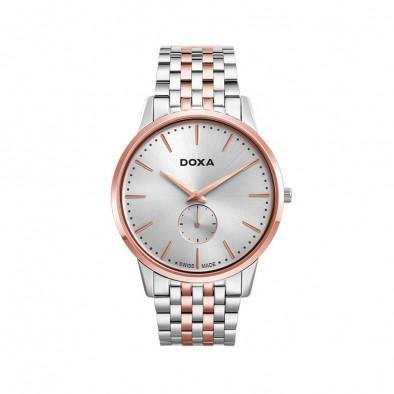 Мъжки часовник DOXA Slim Line браслет с малък секундарник