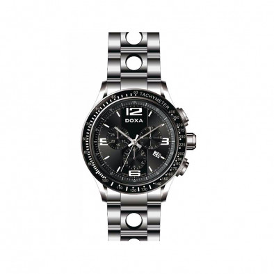 Мъжки часовник DOXA Trofeo сребрист браслет