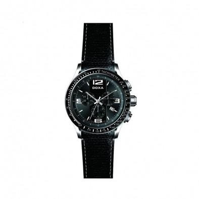 Мъжки часовник DOXA Trofeo изцяло черен