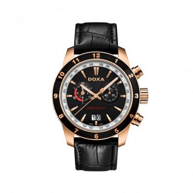 Мъжки часовник DOXA Grancircuit с фосфоресциращи стрелки