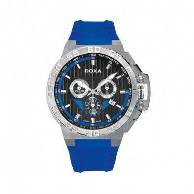 Мъжки часовник DOXA Splash със синя каишка