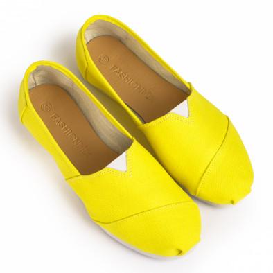 Мъжки жълти еспадрили Basic it020720-2 2