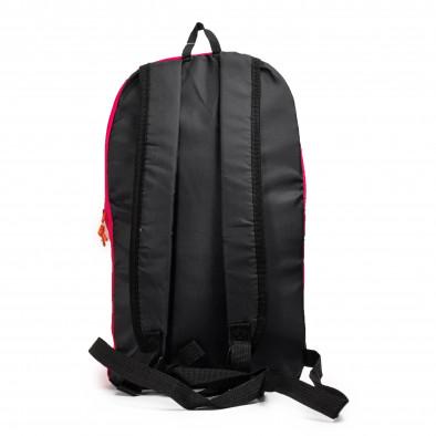 Раница за фитнес в розово Fuxia-Black it040621-36 3