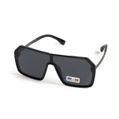 Черни очила тип маска Hexagon il200521-16 3
