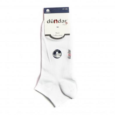 Мъжки бели къси чорапи il040621-46 2