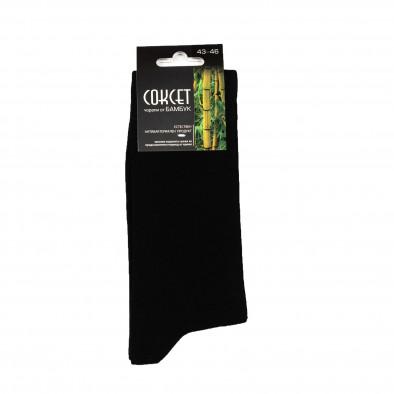 Мъжки черни чорапи от бамбук il161220-45 2