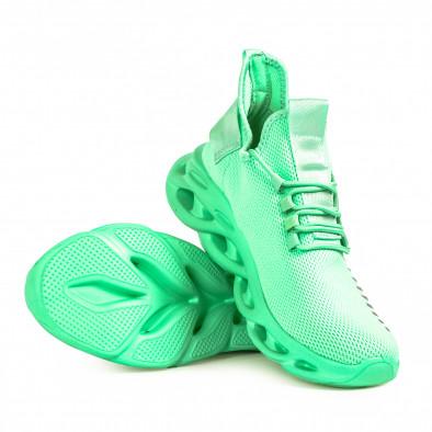 Мъжки маратонки Rogue цвят мента it051021-1 4