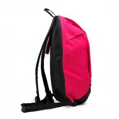 Раница за фитнес в розово Fuxia-Black it040621-36 4