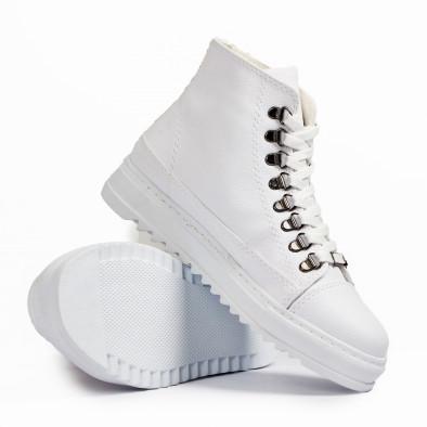 Високи бели кецове трекинг дизайн tr181120-5 4