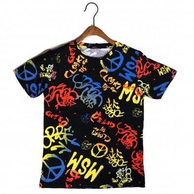 Мъжка тениска с комикси Hippy it200421-7 2