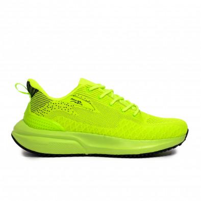 Текстурирани маратонки неоново зелено it090321-6 2