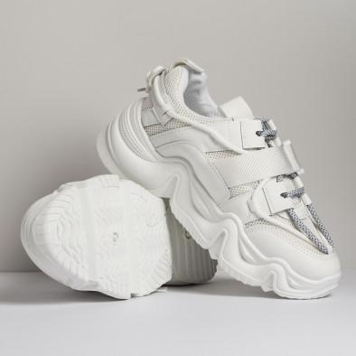Chunky дамски бели маратонки с акценти it280820-18 5