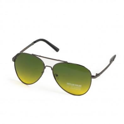 Пилотски очила опушени в жълто-зелено il200521-22 3