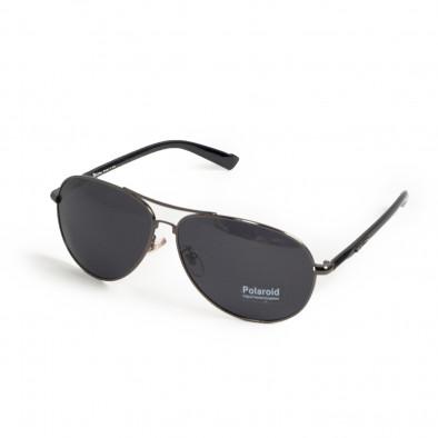Пилотски слънчеви очила сива метална рамка il200521-1 3