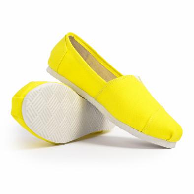 Мъжки жълти еспадрили Basic it020720-2 4