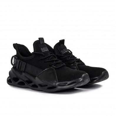 Мъжки маратонки Chevron All black it051021-4 3