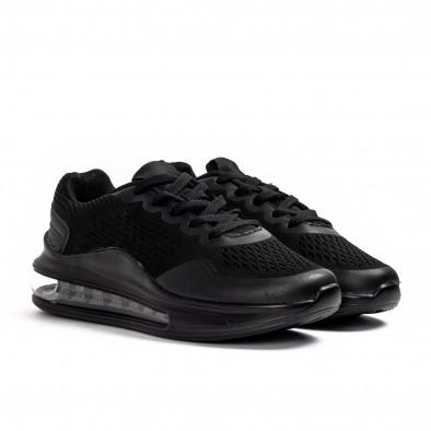 Черни маратонки с въздушна камера Max gr080621-11 3
