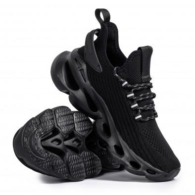 Текстурирани маратонки Rogue All black it261020-4 4