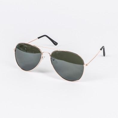 Пилотски слънчеви очила зелени стъкла il210720-3 2