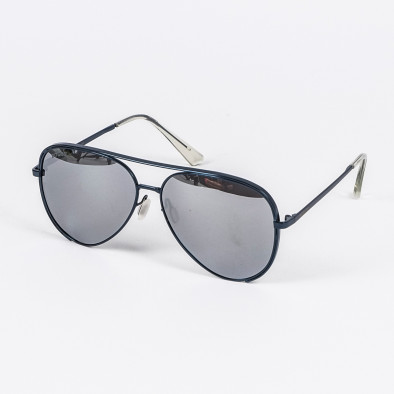 Огледални слънчеви очила синя метална рамка il210720-9 2