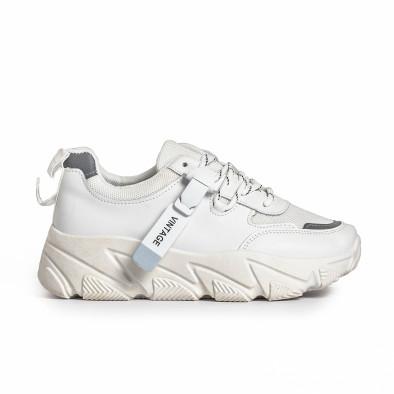 Дамски бели маратонки Vintage. Размер 36 it280820-14-1 2