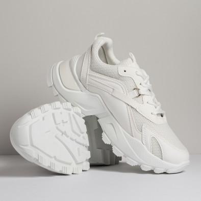 Chunky дамски бели маратонки it280820-7 3